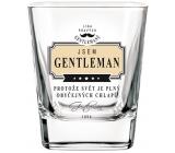 Nekupto Liga Pravých Džentlmenov Whisky pohár Som Gentleman, pretože svet je plný obyčajných chlapov 200 ml