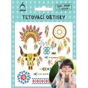 Arch Tetovacie obtlačky s atestom pre deti Indiánci