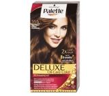 Schwarzkopf Palette Deluxe farba na vlasy 555 Žiarivo hnedý 115 ml