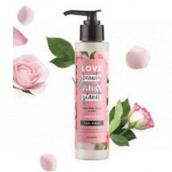 Love Beauty & Planet Murumurské maslo a Ruže pleťový peeling 125 ml