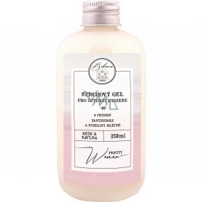 Bohemia Gifts Pretty Woman sprchový gél na intímnu hygienu s prímesou panthenolu a kyseliny mliečnej 250 ml