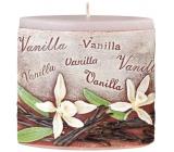 Emóciám Vanilka Vanilla vonná sviečka elipsa 110 x 45 x 110 mm