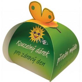 Čarovný darček Konopný extrakt prírodné mydlo z rastlinných olejov pre zdravý deň 50 g