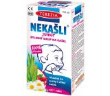 Terezia nekašle Junior 100% prírodný bylinný sirup pre podráždený krk v období nachladnutia 150 ml