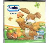 Regina Papierové obrúsky 1 vrstvové 33 x 33 cm 20 kusov Veľkonočné Zajačik s kuriatkami