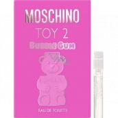 Moschino Toy 2 Bubble Gum toaletná voda pre ženy 1 ml s rozprašovačom, vialka