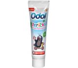 Odol Perlička Krtko nová jemná mätová zubná pasta pre deti od 0 rokov 50 ml
