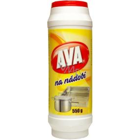 Ava Na riadu čistiaci prášok na čistenie bežného kuchynského riadu 550 g