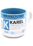 Nekupto Hrnkoviny Hrnček s menom Karel 0,4 litra