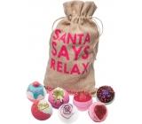 Bomb Cosmetics Vianočný relax 7 balistika, 160 g každý, kozmetická sada