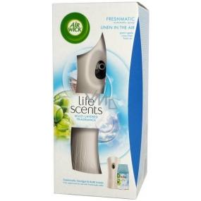 Air Wick Freshmatic Linen in the air - Bielizeň v vánku automatický osviežovač sprej 250 ml