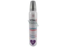 Vitale Exclusively Professional barvící pěnové tužidlo s vitaminem E Purple - Purpurový 200 ml