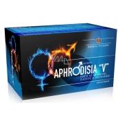 Aphrodisia V pre mužov pre skvalitnenie erekcie a zvýšenie sexuálnej túžby a výkonu, doplnok stravy 60 kapslí