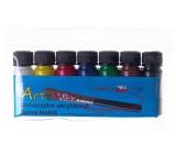 Art e Miss Univerzálna akrylová farba lesklá sada 7 x 12 g