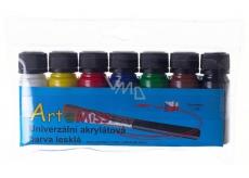 Art E Miss Sada univerzálna akrylátová farba 7x12g 1116