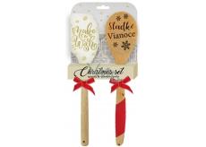 EP Line Silikónová stierka a vareška 1 balenie, vianočný set