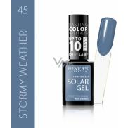 Reverz Solar Gél gélový lak na nechty 45 Stormy Weather 12 ml