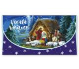 Nekupto Priania obálka na peniaze vianočné Betlehem 116 x 220 mm