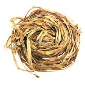 Raffia zlatá nabarvené lýko k dekoraci 30 g