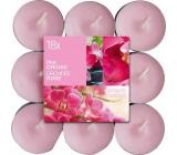 Bolsius Aromatic Pink Orchid - Růžová orchidejj vonné čajové svíčky 18 kusů, doba hoření 4 hodiny