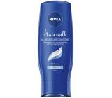 Nivea Hairmilk Ošetrujúci kondicionér pre normálne vlasy 200 ml