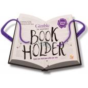 If Gimble Adjustable Bookholder Držiak na knihu Cestovné fialový 340 x 240 x 20 mm