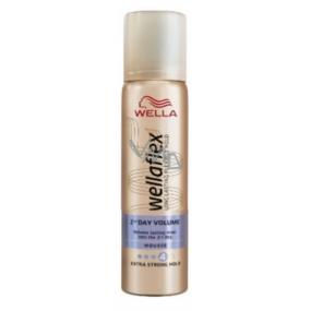 Wellaflex 2-Days-Volume Extra Strong Hold extra silné zpevnění lak na vlasy 75 ml