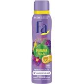 Fa Brazilian Vibes Ipanema Nights dezodorant sprej pre ženy 150 ml