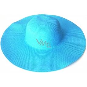 DÁREK Laura Biagiotti Pamela klobouk plážový modrý