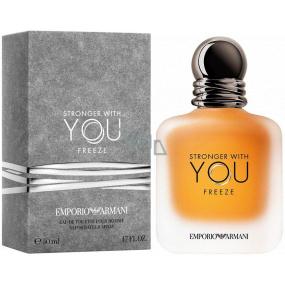 Giorgio Armani Emporio Stronger with You Freeze toaletná voda pre mužov 50 ml