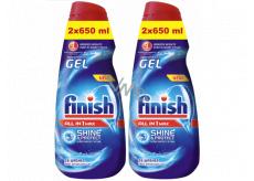 Finish All in 1 Max Shine & Protect gél do umývačky 2 x 650 ml