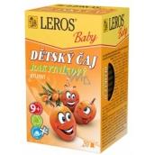 Leros Baby Rakytníkový bylinný čaj pro děti 20 x 2 g