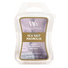 WoodWick Sea Salt Magnolia - Mořská sůl a magnólie Artisan vonný vosk do aromalampy 22.7 g