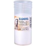 Madona Hřbitovní svíčka vklad lisovaná bílá 2,5 dne 180 g