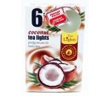 Čajové sviečky Tea Lights 6ks Coconut 6954