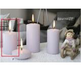 Lima Ice pastel sviečka fialová valec 60 x 90 mm 1 kus