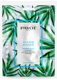Payot Morning Water Power Masque Hydratačná výživná látková maska 1 kus 19 ml