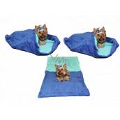 Marys pelech - vrece 3v1 je určený pre šteniatko, mačiatko, hlodavce alebo fretku XL 60 x 150 cm modrý / tyrkys