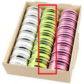 Ditipo Stuha multi trendy colours zelená mix 16 mx 10 mm