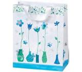BSB Luxusná darčeková papierová taška 23 x 19 x 9 cm Blue Dreams LDT 372-A5
