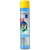 Cif Professional Multi Surface proti prachu čistiace a leštiace prípravok sprej 400 ml