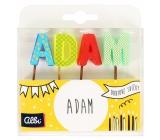 Albi Tortové sviečky meno - Adam, 2,5 cm