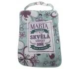 Albi Skladacia taška na zips do kabelky s menom Marta 42 x 41 x 11 cm