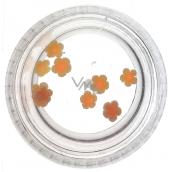 Professional Ozdoby na nechty kvetina oranžové 132