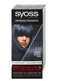 Syoss Professional farba na vlasy 3-51 Uhľovočierne strieborný