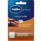 Vaseline Lip Therapy Kakaové maslo pomáda na pery 4 g
