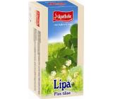 Apotheke Lipový čaj podporuje vylučovanie vody z tela, prispieva k normálnej funkcii dýchacieho systému 20 x 1,5 g