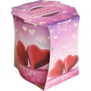 Admit Verona Romance - Romantika vonná sviečka v skle 90 g