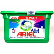 Ariel All-in-1 Pods Color gélové kapsule na farebnú bielizeň 10 kusov 238 g