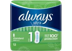 Always Ultra Standart intímne vložky 12 kusov
